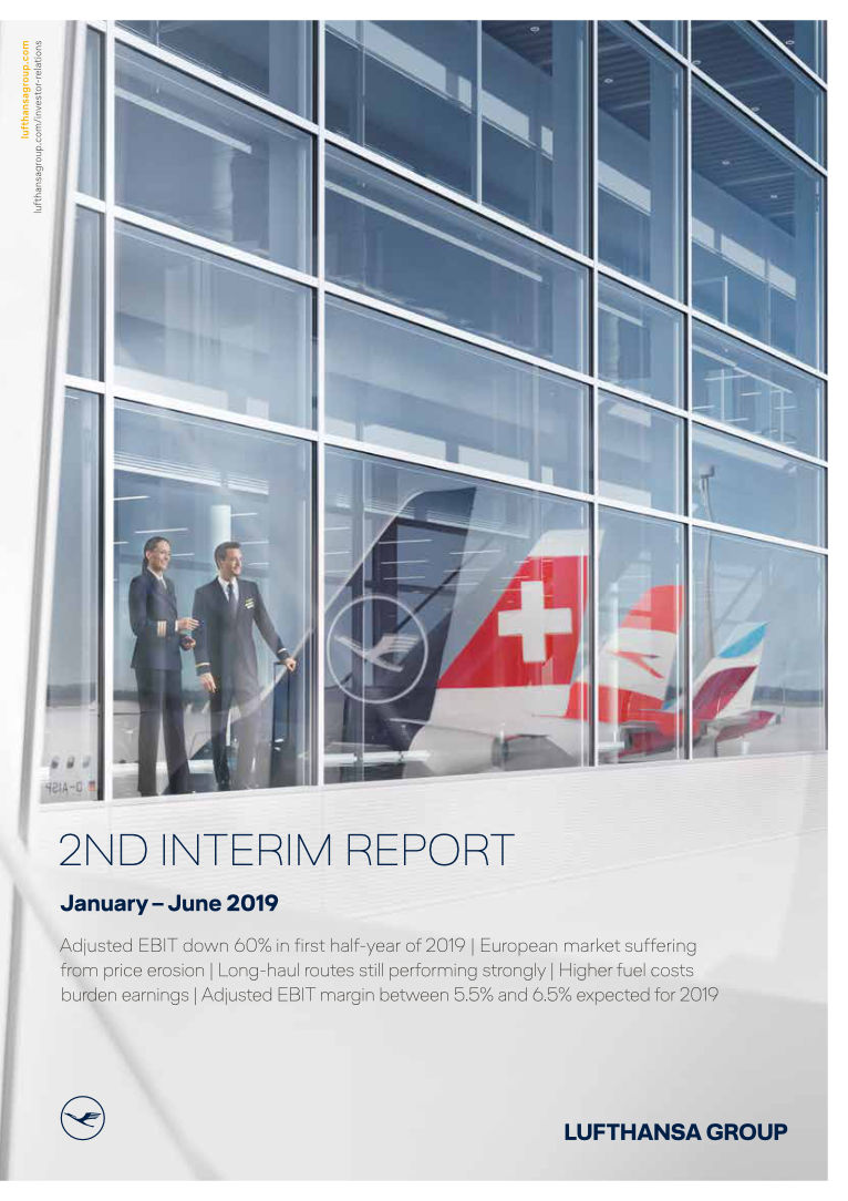Lufthansa Group Investor Relations: Financial reports